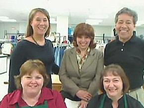 Community Clothes volunteers