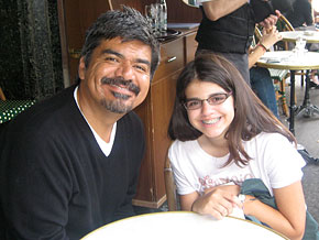 George Lopez talks about how his life growing up is different than his daughter's.