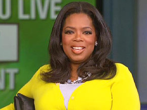 Oprah on living with less