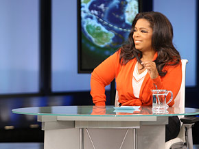 Oprah says she loves Skyping with viewers.