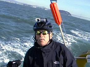 Ed Gallagher uses Skype as an alternative to eyesight.