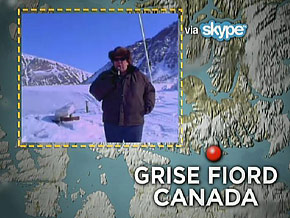Janice in Grise Fiord, Canada