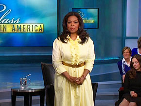 Oprah discusses shifting social classes.