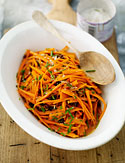 Crisp Carrot Salad with Currants