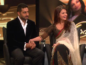 Aishwarya Rai and Abhishek Bachchan on their wedding day