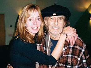 Mackenzie Phillips talks about her father's death.