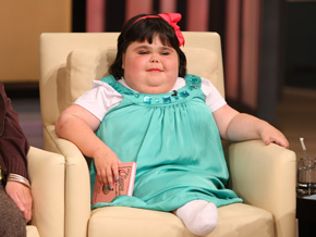 Shiloh Pepin has sirenomelia, or Mermaid Syndrome.