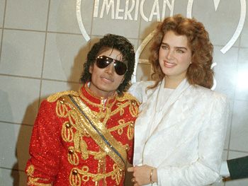 Michael Jackson and Brooke Shields
