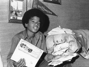 Michael Jackson at age 13