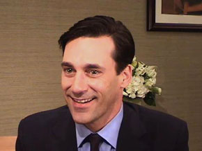 Backstage with Jon Hamm