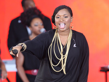 Jennifer Hudson performs at Oprah's Season 24 Kickoff Party.