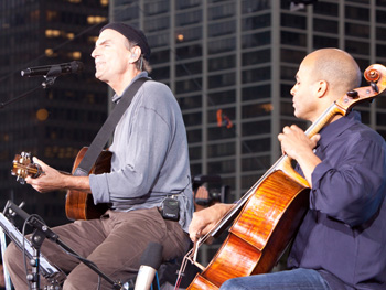 James Taylor and Owen Young perform You've Got a Friend.""