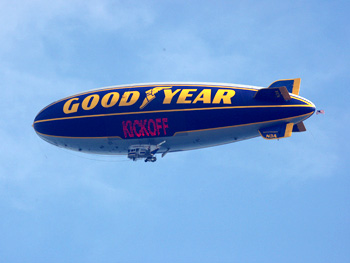 Goodyear Blimp at Oprah's Season 24 Kickoff Party