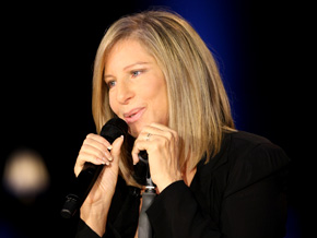 Barbra Streisand talks stage fright.