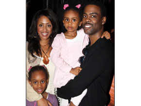 Chris Rock and his family