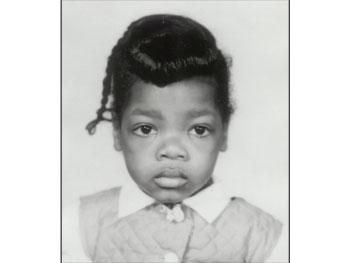 Oprah at 2 years old
