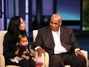 Mike Tyson, Kiki and their daughter