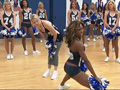 Ali Wentworth and the Dallas Cowboy cheerleaders