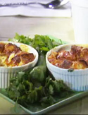 Cheesy Chorizo Strata