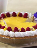 Spectacular Lemon Mousse Pie