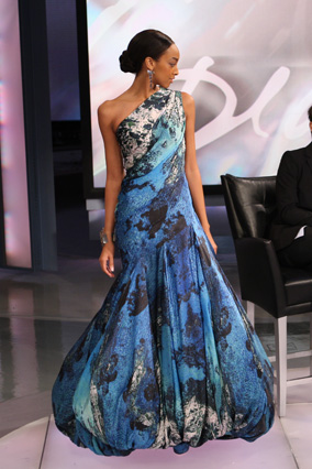 Christian Siriano's Amalfi ball gown