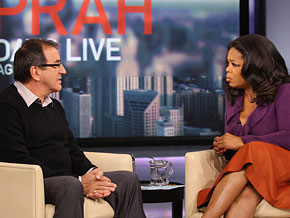 Kenny Ortega and Oprah