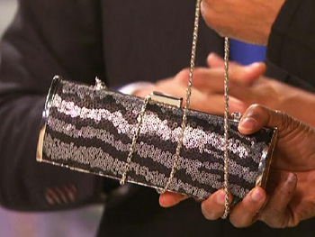 Chain-Strap Evening Bag