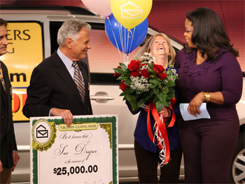 Oprah Winfrey Show Big Million Dollar Winners and This Is It Premiere