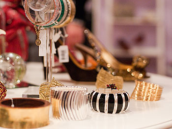 Wrist cuffs at Oprah's Accessory Boutique