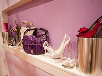 Special occasion heels at Oprah's Accessory Boutique