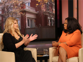 Kirstie Alley announces her new reality TV show about weight loss.