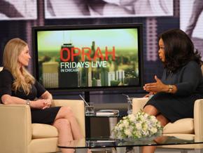 Lisa Niemi and Oprah