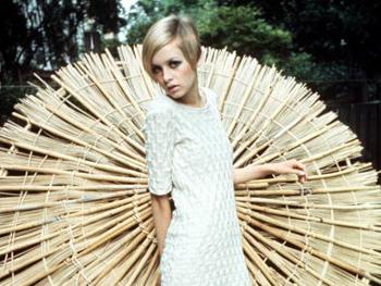 Fashion model Twiggy
