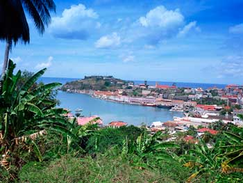 The coast of Grenada