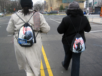 Obama backpacks