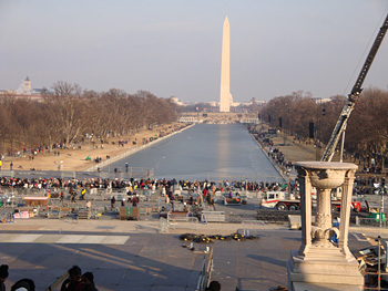 The mall in Washington, D.C.