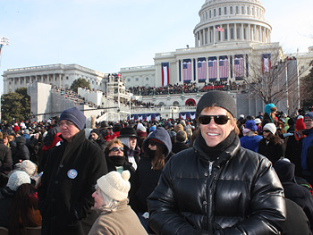 Jon Bon Jovi on Inauguration Day