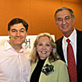 Dr. Mehmet Oz, Millard Fuller and Bettie B. Youngs