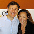 Dr. Mehmet Oz and Donna Karan