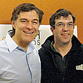 Dr. Mehmet Oz and A.J. Jacobs