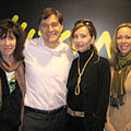 Dr. Mehmet Oz with Ranya Idliby, Suzanne Oliver and Priscilla Warner