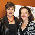 Marianne Williamson and Jane Olson
