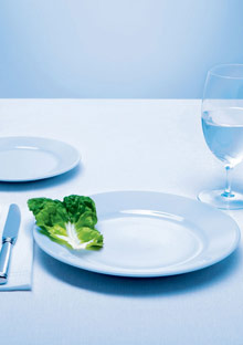 Why dieting isn't always the way to lose weight