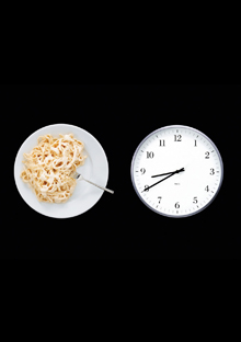 Food and clock