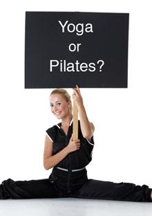 Yoga or pilates?
