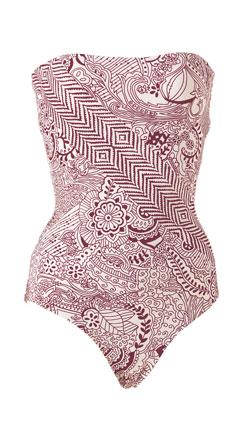 Graham Kandiah one-piece bathing suit