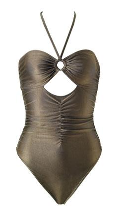Tomas Meier one-piece bathing suit