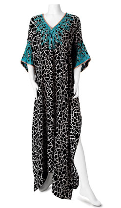 Jeannie McQueeny turquoise beach coverup