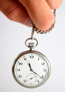 Hypnotist pocket watch