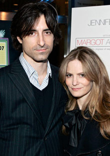 Noah Baumbach and Jennifer Jason Leigh